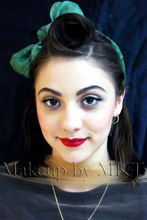 1940/50 makeup My Pinup Girl