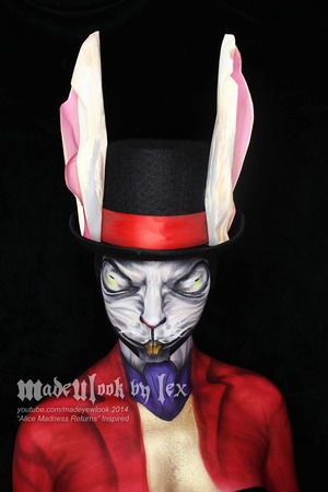 This rabbit was inspired by my all time favorite video game, Alice Madness Returns by Spicy Horse and EA Games! Incredible game, but also not recommended for people who get scared easily, or people who are bad with cartoon gore. Find this tutorial on youtube.com/madeyewlook