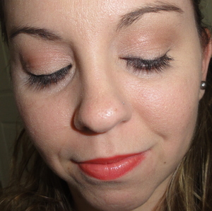 Neutral Eye and Coral Lip