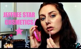 JEFFREE STAR COSMETICS UNBOXING/FIRST IMPRESSIONS