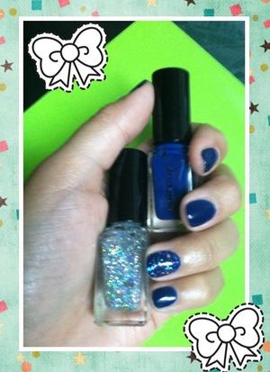 Shu Uemura Holiday Collection Nail Polish I won from Beautylish's giveway... Finally tried it and loving the colors!