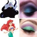 Ariel & Ursula inspired looks!
