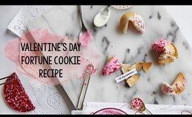 Valentine's Day Fortune Cookie Valentine Gift Recipe & Tutorial   OliviaMakeupChannel