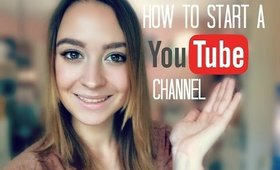 How To Start A Youtube Channel 2014 ♡