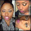 makeup look w/ candy yum yum