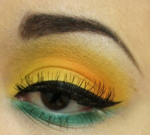 A fun bright look for a fun day out in the sun.