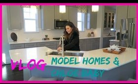 VLOG: Model Homes & Shopping with Chloe♡ | ANGELLiEBEAUTY