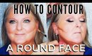 How To Contour And Highlight A Round Face For Women Over 40 - mathias4makeup