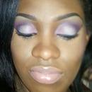 purple eyes nude lippie