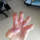 Roses nails