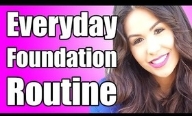 Every Day Foundation Routine, Review & Demo For Beginners | 2014