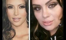 INSPIRED  Kim Kardashian's Bronzy Smoky Eye