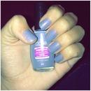 Pastel blue berry