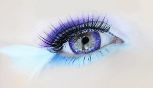 Dueba Puffy 3 Tones Violet lenses
