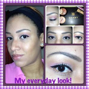 My everyday makeup!!