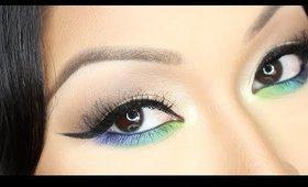 Pop of Blue ♡ Makeup Tutorial