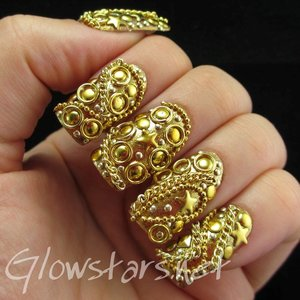 Read the blog post at http://glowstars.net/lacquer-obsession/2014/06/the-digit-al-dozen-does-metal-gold/