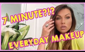 My Everyday 7 Minute Quarantine Makeup Tutorial