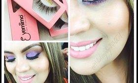 Ojo Ahumado Morado | Maquillate Conmigo |MakeupbyIRMITA