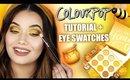 COLOURPOP Honey Collection Makeup Tutorial + Eye Swatches