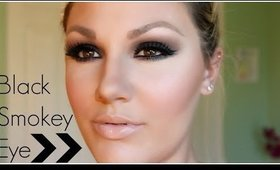 Simple Black Smokey Eye for Beginners