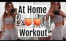 BIGGER BUTT WORKOUT AT HOME | NO EQUIPMENT! Grow booty at home 2018