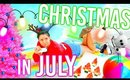 DIY Christmas in July Pool Party! What to do when you're BORED in Summer!