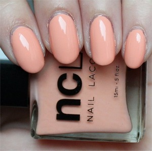See more swatches & my review here: http://www.swatchandlearn.com/ncla-dont-call-me-peachy-swatches-review/