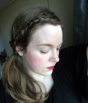 I love pink cheeks and lips. I think it looks really fresh and natural on my pale skin and helps to brighten my complexion.