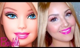 Barbie Makeup for Halloween ♡