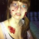 Halloween look - zombie!