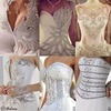 Cut wedding dress design