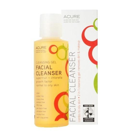 Acure Organics Facial Cleanser Gel Superfruit Chlorella