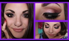 Purple Glitter Smokey Eyes ♡ | Marika