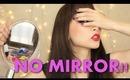 TAG: No Mirror Makeup Challenge!! ~Bond girl look~