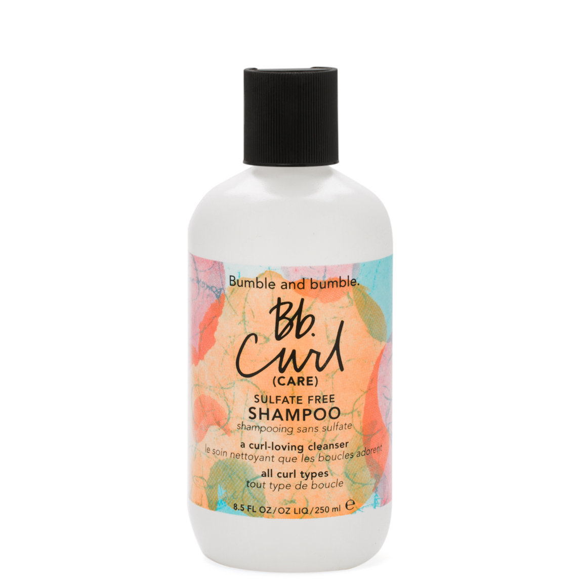 Bumble and bumble. Bb.Curl Sulfate Free Shampoo product smear.