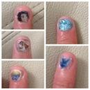 Smurfs 2 nails