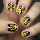 Alexander McQueen Tribal Nails
