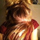 hair bow (by me) <3