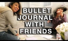 VLOG: BULLET JOURNAL (WITH FRIENDS) | yummiebitez