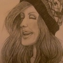 My portrait of Ellie Goulding