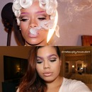 "Rihanna "" Pour It Up"" Official Music Video Inspired Makeup Tutorial"