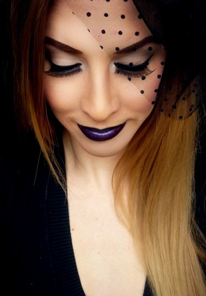 Gothic Pin Up - Tutorial on my YouTube Channel: PigmentsandPalettes