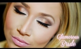 Glamorous Bride: Featuring Urban Decay's Naked 2 Palette