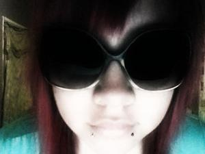 When my hair was red.