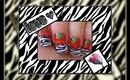 ~ Zebra / Tiger Strawberry Design ~