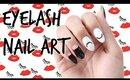 EYELASH NAIL ART | MANI MONDAY #NAILSWITHLYNETTE