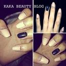 Spring Pastels/Ring Finger Manicure
