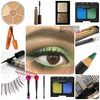 Green eye makeup products