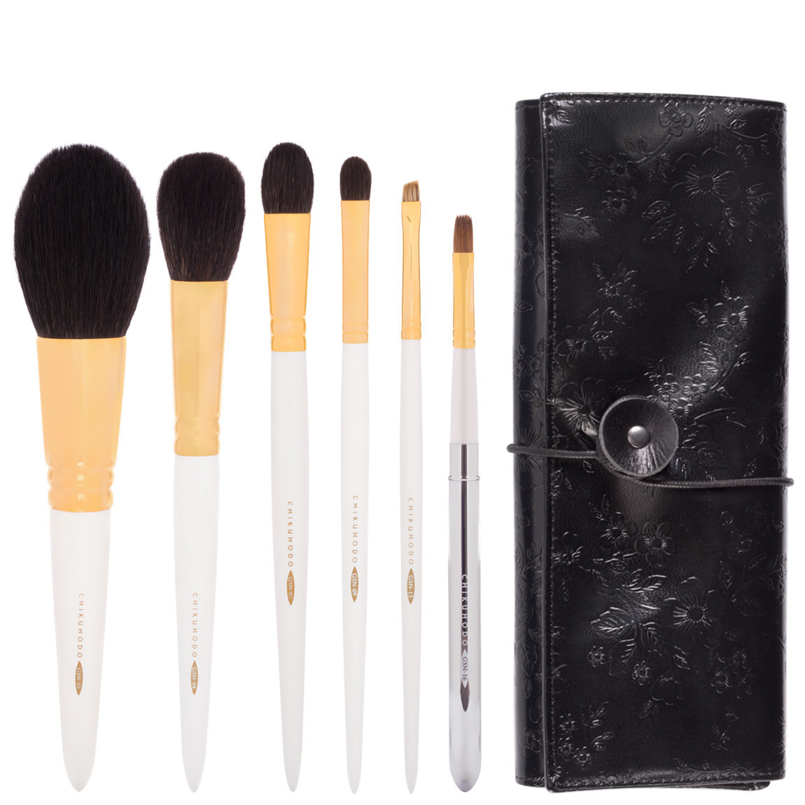 CHIKUHODO GSN Series 6-Piece Brush Set product smear.